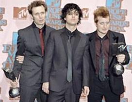 Green Day và Coldplay thắng lớn tại giải MTV châu Âu