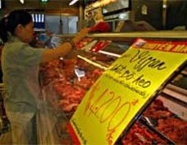 TPHCM: Giá thịt heo còn giảm thêm