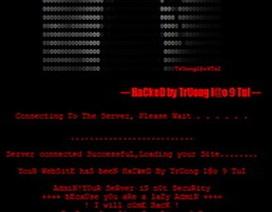 Website của Trung tâm quản lý vệ tinh Vinasat bị tấn công?