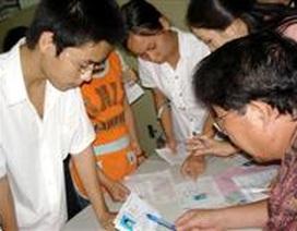 Toàn cảnh hồ sơ ĐKDT vào các trường ĐH, CĐ năm 2008