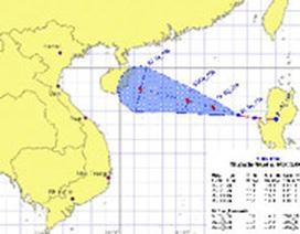 Bão lớn hoành hành trên biển Đông