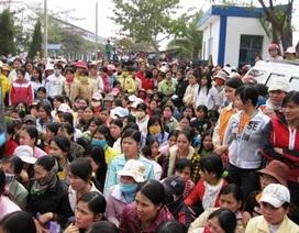 UBND tỉnh chỉ đạo giải quyết vụ đình công tại Cty TNHH giày Sunjade