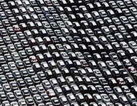 Thảm cảnh xe tồn kho trên khắp thế giới