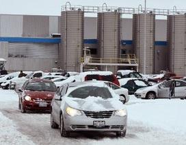 Chrysler đóng cửa 4 nhà máy trong tháng 2