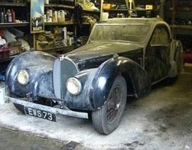 4,4 triệu USD cho chiếc Bugatti cổ bị bỏ quên