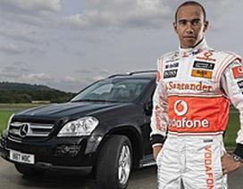 Lewis Hamilton dùng xe Mercedes GL320 CDI