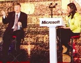 MC trong buổi giao lưu với Bill Gates là ai?