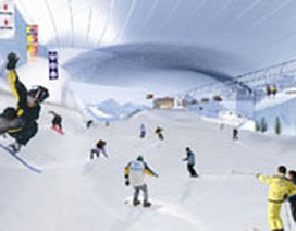 Trượt tuyết ở... sa mạc