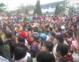 Hàng nghìn công nhân Thanh Hóa đình công
