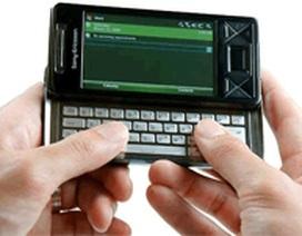 Sony Ericsson Xperia X1 lại hoãn đến tháng 1/2009?
