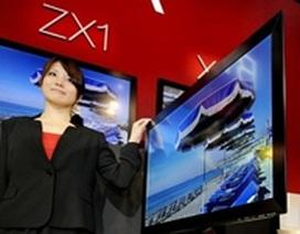 Sony chuẩn bị trình làng TV LCD mỏng nhất thế giới