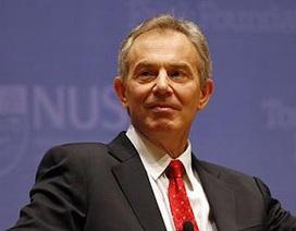 Trang FaceBook của Tony Blair bị khống chế