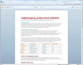 Bộ phần mềm Office 2010 sẽ trình làng trong năm tới