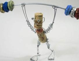 Chùm ảnh: Những ngẫu hứng sáng tạo từ dây thép