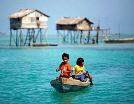 Chùm ảnh: Ngôi làng biệt lập trên biển