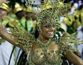 Chùm ảnh: Cuồng nhiệt lễ hội hoá trang Rio de Janeiro