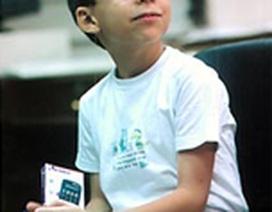 Thần đồng tính toán 9 tuổi