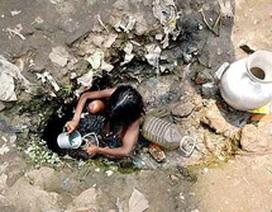 400 triệu trẻ em trên thế giới đang thiếu nước sạch