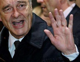 Tổng thống Chirac bỏ họp EU để phản đối đồng hương