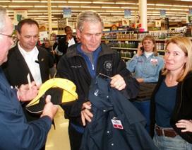 """Ông Bush """"đi tìm việc"""" ở Dallas"""