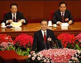 """Thủ tướng Ôn Gia Bảo: Trung Quốc """"đối mặt với năm khó khăn nhất"""""""