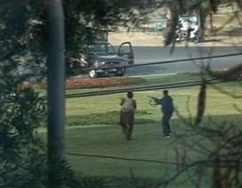 Tiết lộ đoạn băng các tay súng trốn khỏi hiện trường
