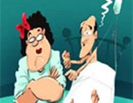 Những chiêu lạ ràng chồng buộc vợ