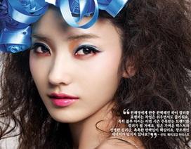 """""""Búp bê"""" Han Chae Young rực rỡ sắc xuân"""