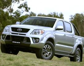 Toyota Việt Nam công bố bảng giá mới