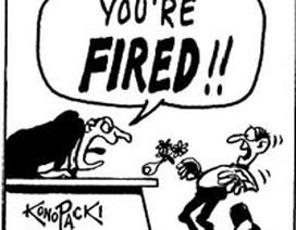 Việc cần làm khi định sa thải một nhân viên