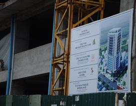 Tòa chung cư cao cấp bỏ hoang trên đất vàng Hà Nội