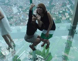 """Cận cảnh khu Sky walk """"khủng"""" nhất Châu Á tại tòa tháp cao thứ 2 Việt Nam"""