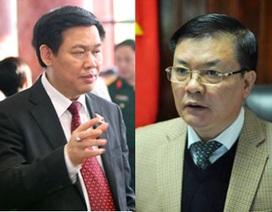 Miễn nhiệm Bộ trưởng Vương Đình Huệ, điều chuyển Tổng kiểm toán