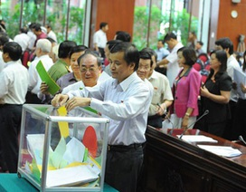 Rút chương trình lấy phiếu tín nhiệm tại kỳ họp Quốc hội tới