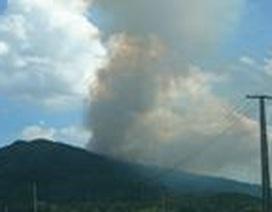 Thanh Hóa: Tiếp tục cháy rừng bất thường ở Tĩnh Gia