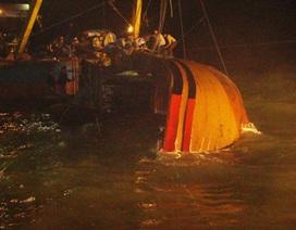 Phát hiện thi thể một ngư dân trong vụ 14 người chìm cùng tàu cá