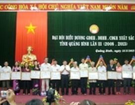 Quảng Bình: Tặng bằng khen cho 50 gia đình, dòng họ, cộng đồng khuyến học tiêu biểu