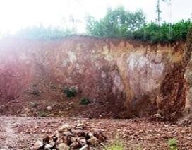 Chỉ đạo đình chỉ mỏ khai thác đất trái phép