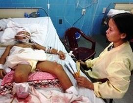 Quảng Bình: Đi bắt ếch, bị tàu cán đứt hai chân