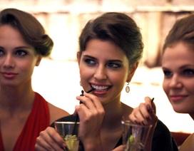 Cận cảnh nhan sắc Hoa hậu Nga tại Hà Nội
