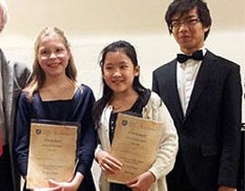 Tài năng piano gốc Việt đoạt giải Junior Prize