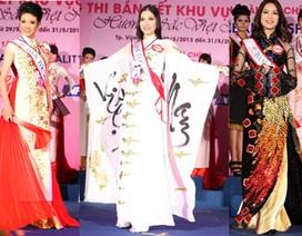 Ngắm người đẹp Hoa hậu dân tộc rực rỡ với áo dài