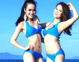 Ngắm người đẹp vận bikini khoe dáng trước biển xanh