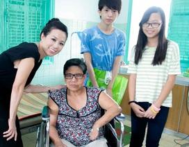 Hoa hậu Thu Hoài đưa hai con đi thăm trại phong Bến Sắn