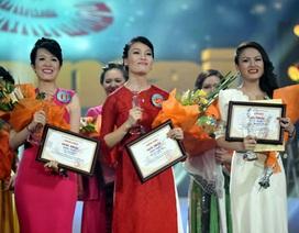 Mỹ nữ thắng tuyệt đối đêm chung kết xếp hạng Sao Mai 2013