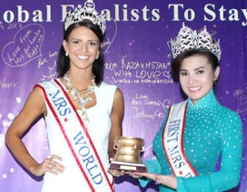 Hoa hậu Quý bà Thế giới 2015 sẽ diễn ra tại Việt Nam