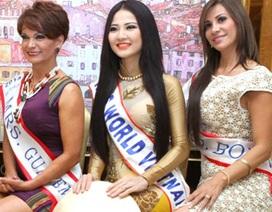 Trần Thị Quỳnh nỗ lực tỏa sáng tại Hoa hậu Quý bà Thế giới