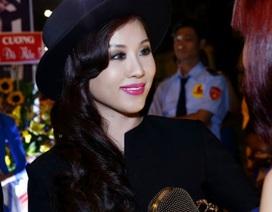 Hoa hậu Thu Hoài nổi bật với thiết kế ấn tượng