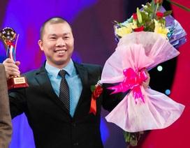 Diễn viên Hải Anh nhận giải Nhà quản lý xuất sắc