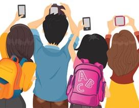 Trẻ em ngày càng chìm đắm vào mạng ảo
